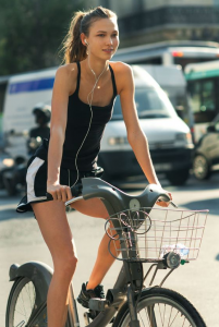 afvallen door te fietsen